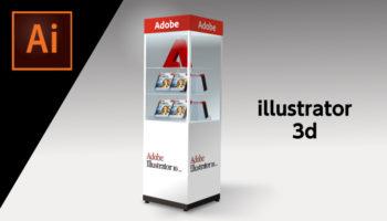 illustratorの3d効果はサクッとクオリティをあげるのに便利