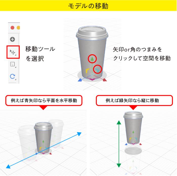 Dimension モデルの移動