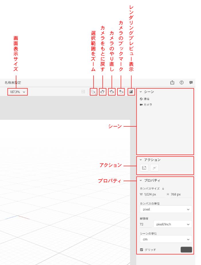 Dimension インターフェイス紹介