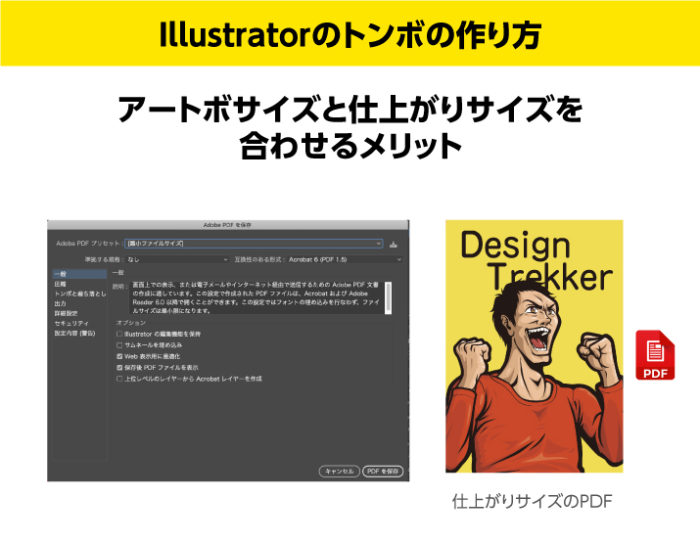 Illustratorのトンボの作り方 アートボード と仕上がりサイズを合わせるメリット