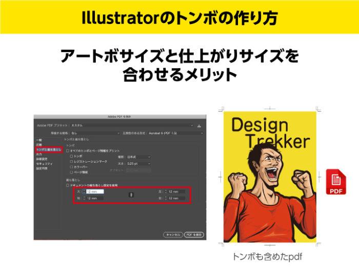 Illustratorのトンボの作り方 アートボード と仕上がりサイズを合わせるメリット2